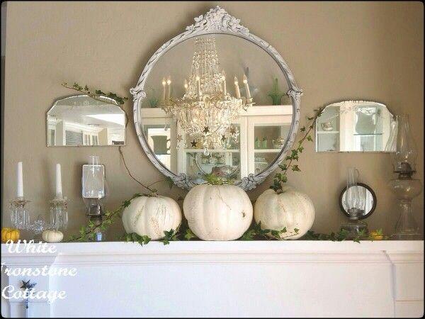 Shabby chic Autumn decor. | Home | Pinterest | Shabby and