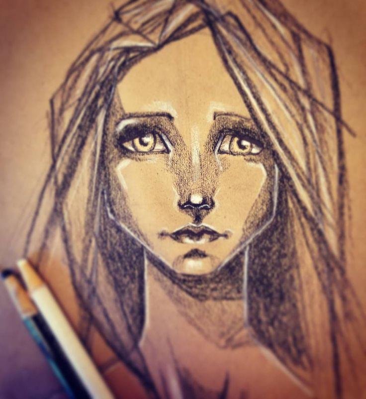 "42 Likes, 2 Comments - Karen Campbell (@karencampbellartist) on Instagram: ""Practice.  #awesomeartschool #practice #sketch #artist #drawing #portrait"""