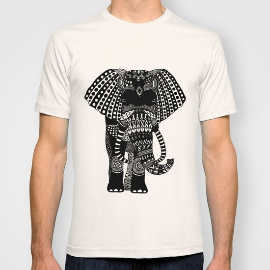 Come get your very own elegant elephant t-shirt at http://society6.com/katopiadesign