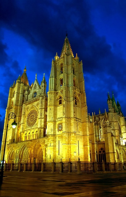 Leon Spain - my most favourite Cathedral along the Camino (besides the Cathedral in Santiago)