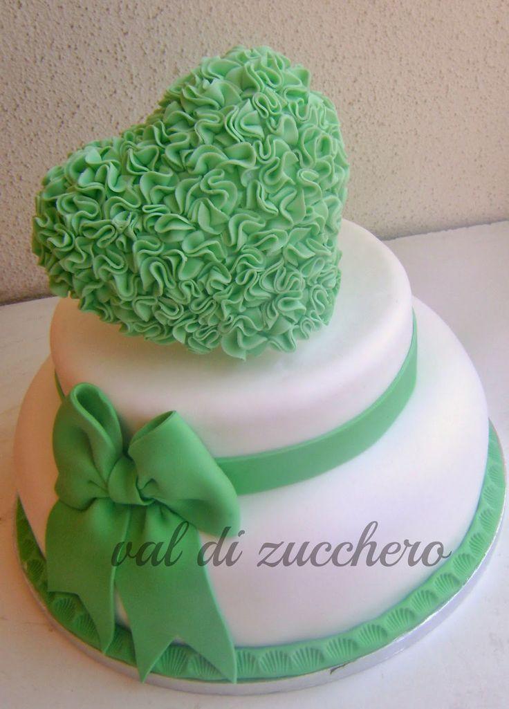 Torta e cupcake per promessa di matrimonio!