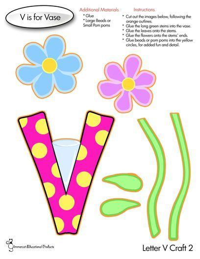 Letter V Activities For Ages 2 4 Letter V Crafts Preschool Letter Crafts Letter A Crafts