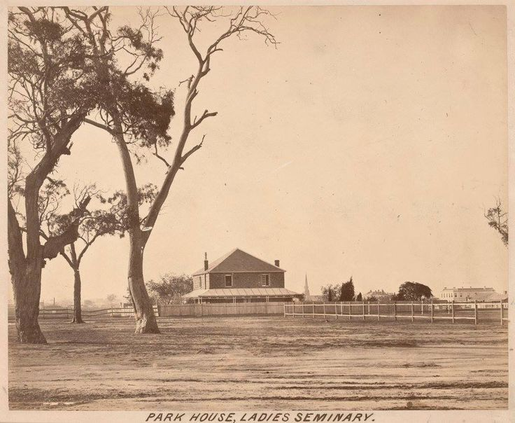 Park House, Brunswick, 1866 Between rail line and hotel Cnr Brunswick Rd & Sydney Rd