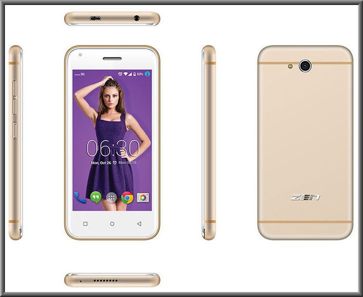ZEN Admire SXY Features, Specs and Price in India