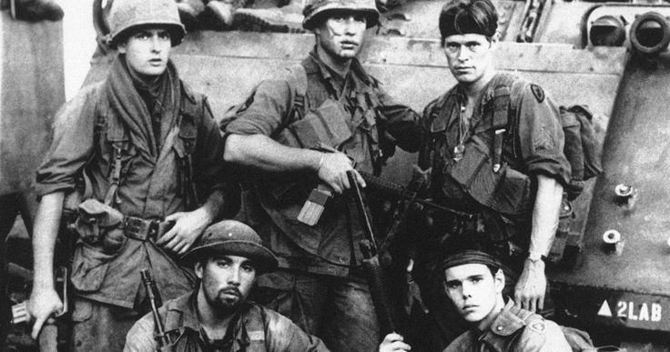 Platoon Cast Reunite for 30th Anniversary During Wild House Party -- Johnny Depp, Charlie Sheen and Kevin Dillon reunited to celebrate the 30th Anniversary of Oliver Stone's Platoon. -- http://movieweb.com/platoon-movie-30th-reunion-johnny-depp-charlie-sheen/