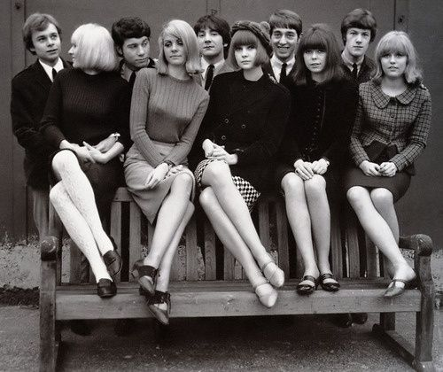 Theswinginsixties Young Mods, England, 1960S  Style  Pinterest  Mod Girl, Girls And England-4624