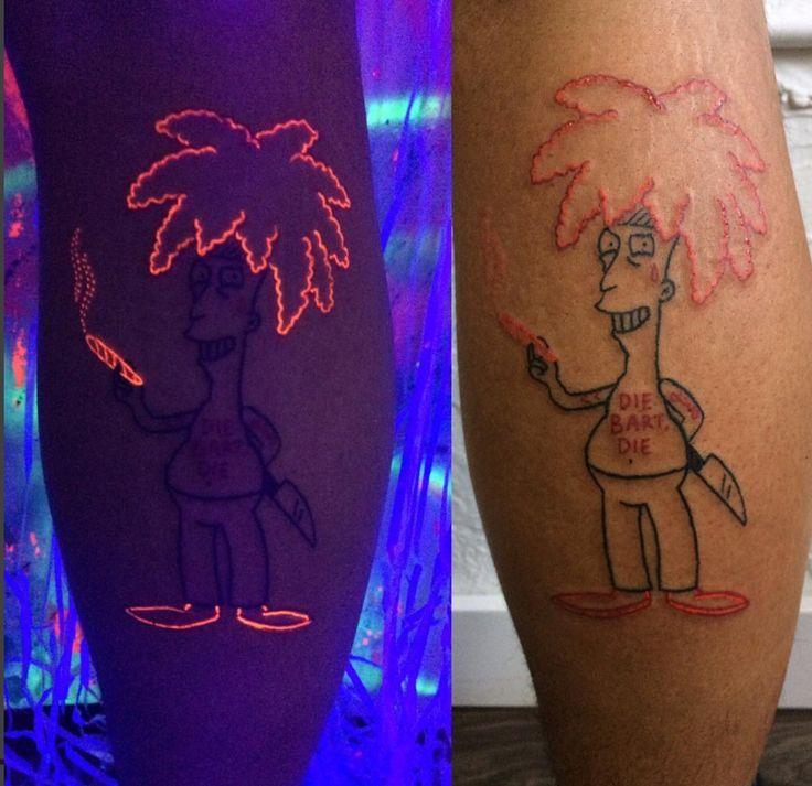 tatuajes ultravioleta uno