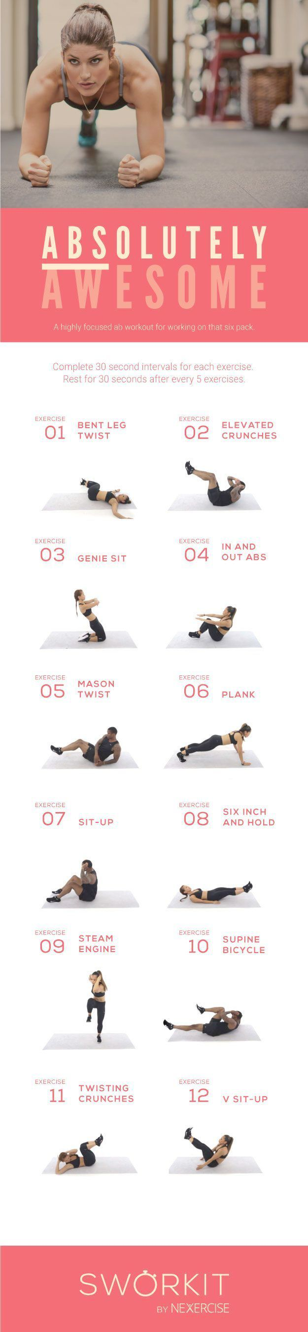 Total Body Workout – 45 min – Core, Arms, Glutes – 100 Rep Challenge