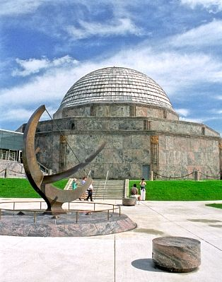 Adler Planetarium, Chicago  Started going here when I was 7. Still my favorite place in.chicago