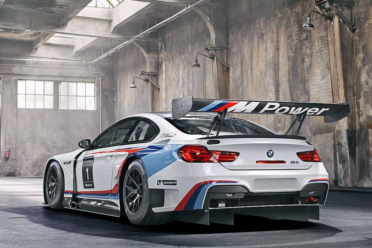 Unveiled at the 2015 Frankfurt Auto Show, the BMW M6 GT3 is a racing version of the big sporting Bimmer coupe. #fortheloveofmachines