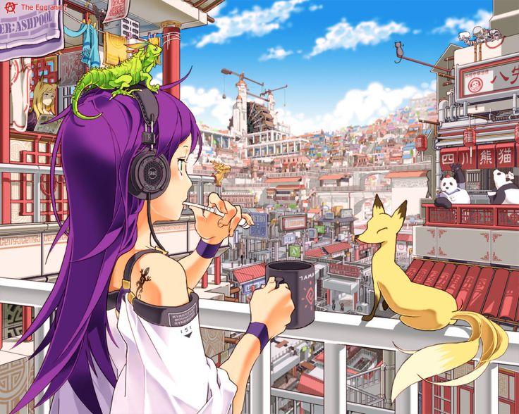 Anime - Headphones Wallpaper