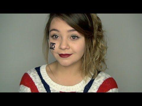 Maquillaje para el concierto de One Direction - Clips del concierto! - YouTube