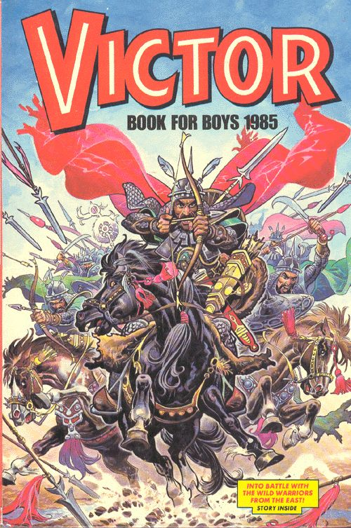 Remember this...'Victor' what an awesome comic :-)