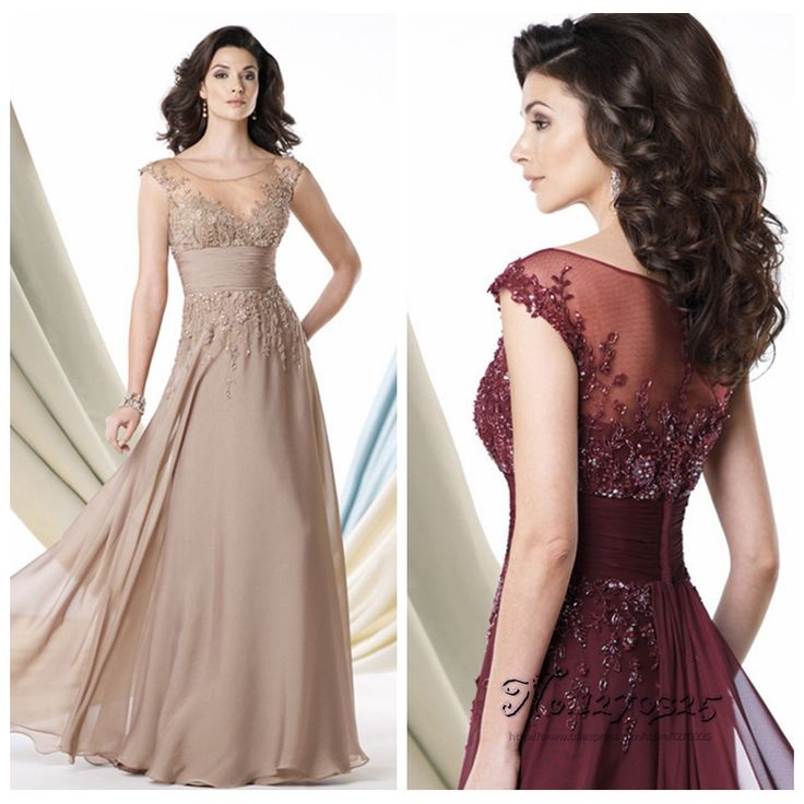 vestidos madre de la novia 2016 new champagne burgundy sleeve mother of the bride lace dresses long evening dresses  groom