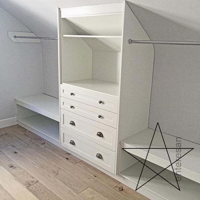 Unter Dem Dach Garderobe Kleiderschrank Fur Dachschrage Schlafzimmer Schrank Schrank Im Dachgeschoss