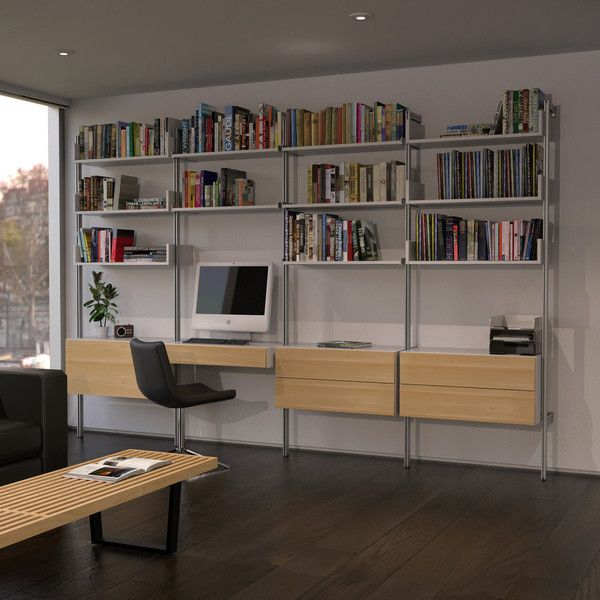 Office Wall Cabinets Design : Best images about office wear on shelves