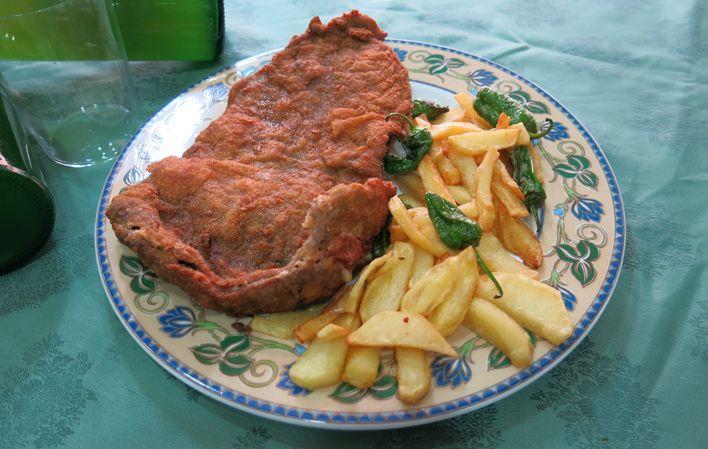 Cachopo Clásico (por Los Pomares) #receta #recipe #Gastronomía #Gastronomy #Asturias #ParaísoNatural #NaturalParadise #Spain