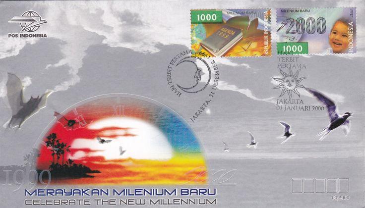 FDC Celebrate The New Millenium  ( Jakarta 01-01-2000)