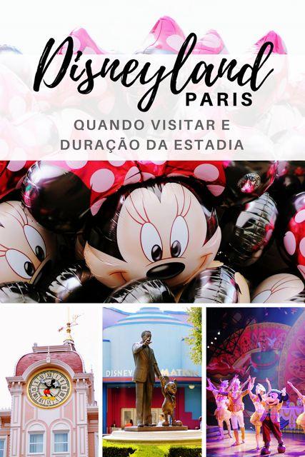 Guia da Disneyland Paris: quando visitar e duração da estadia
