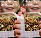 PoP Corn au chocolat recette de Noël + fiche activité +QR code