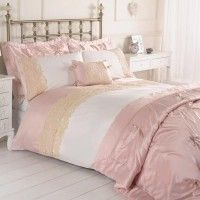 Jenna pink single duvet set