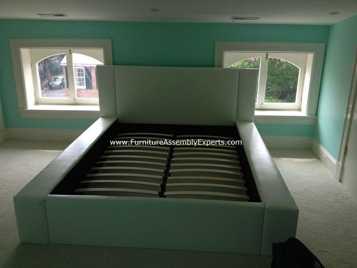 ethan allen bed frame assembly 1