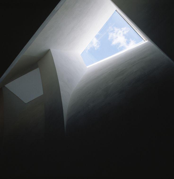 Bow-tie skylight on Kiasma 3rd floor | Photo: Finnish National Gallery / Niina Vatanen