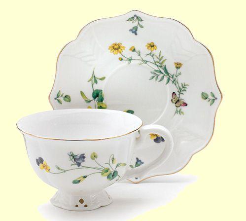 Lucinda Belle     Porcelain Tea Cup and Saucer