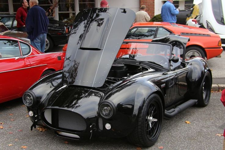 I normally don't post Cobras but this doesn't & blacked out one looks pretty cool.