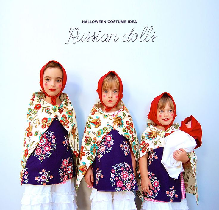 My friend Maja suggested that my girls should dress for Halloween as Russian nesting dolls (or matryoshka dolls or babushka dolls or whatever it pleases...Read More