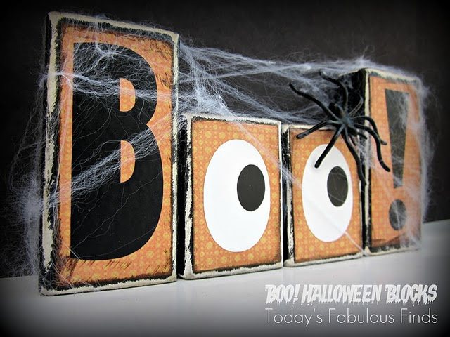 So cute, Boo Blocks: Fabulous Finds, Today S Fabulous, Blocks Printable, Boo Blocks, Halloween Fall, Halloween Crafts, Halloween Blocks, Free Printables, Halloween Ideas