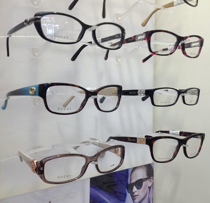 New Gucci and Jimmy Choo eyewear