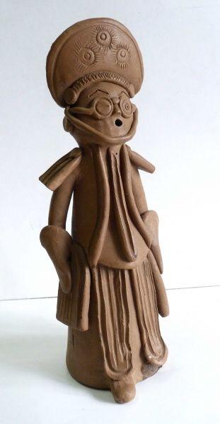 Mestre Galdino. Cangaçeiro. 28 cm.