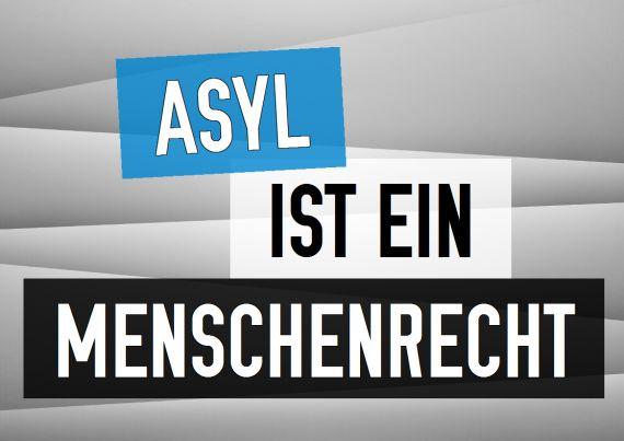 Asyl ist ein Menschenrecht | Weltflüchtlingstag | 20. Juni | (c) Rainer Wermelt | rainerwermelt.de