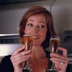 New trending GIF on Giphy. allison janney cheers champagne. Follow Me CooliPhone6Case on Twitter Facebook Google Instagram LinkedIn Blogger Tumblr Youtube