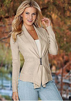Sweaters & Sweatshirts: Knit, Ribbed, Fringe, & Lace   Venus