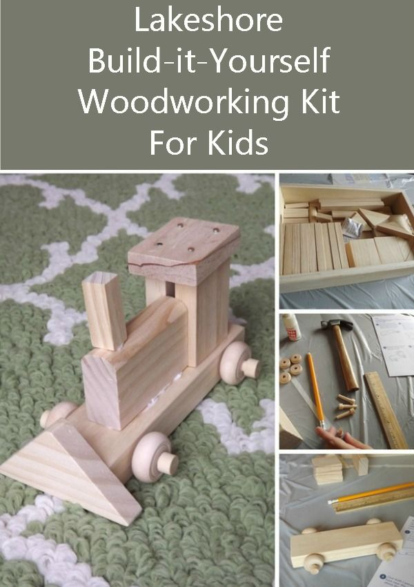 Inspire Creative Play with Lakeshore's Build-It-Yourself Woodworking Kit for kids | MyKidsGuide.com
