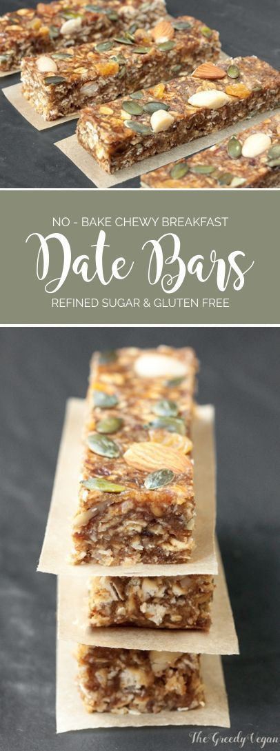 These delicious no-bake breakfast bars are packed with vital nutrients. They are sweetened with dates which also give them their wonderful fudgy texture.