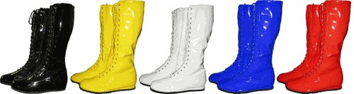 Pro Wrestling Costume Men's Boots - Hulk Hogan Costume - Free Shipping on orders over $60 | TV Store Online