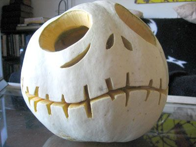 We are going to be doing a pumpkin carving night before the wedding. We will have a Nightmare Before Christmas inspired pattern for everyone to do. <3