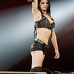 Saraya-Jade Bevis (born 17 August 1992) is an English professional wrestler. She is signed to WWE, where she performs under the ring name Paige. She is the inaugural NXT Women's Champion of WWE's developmental branch, NXT, a two–time WWE Divas Champion , and became the youngest Divas Champion in history at the age of 21 itimes.com
