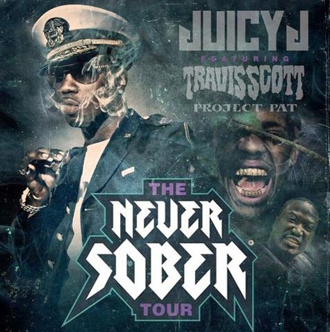 Juicy J Announces 'Never Sober' Tour Dates