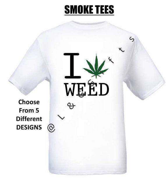 """Marijuanna T shirt , Weed Clothing, Cool Tshirt, """"MARIJUANA"""", Smoking Bongs,Cannabis Shirt, High Life, Weed Shirt, Pot leaf, Tshirt, Tee"""