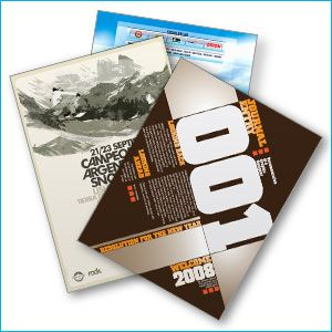 Flyer Printing - We offer custom night club flyer printing with same day, next day and 2-4 day turnaround.