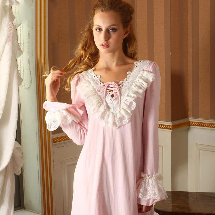 Women's Exotic Nightgowns: Bring New Meaning to Beauty Sleep Feel beautiful even on your way to bed wearing women's exotic nightgowns that accentuate your femininity. Choose between short, babydoll dresses or flowing floor-length nightgowns.