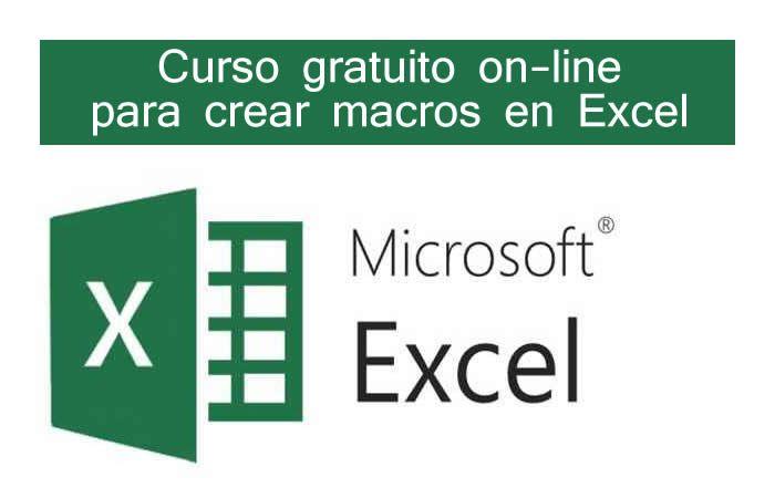 Curso gratuito on-line para aprender a crear macros en Excel #cursosexcel #cursosonline