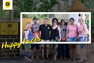 Summing up our guests experience at FortTiracol with this perfect picture. #FortTiracol #HeritageHotel #Goa  http://www.forttiracol.in/
