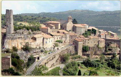 Minerve, près de l'Aude, village du 34 cité cathare