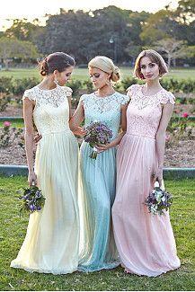 Good Quality Long Bridesmaid Dresses UK Online at Okdress.co.uk