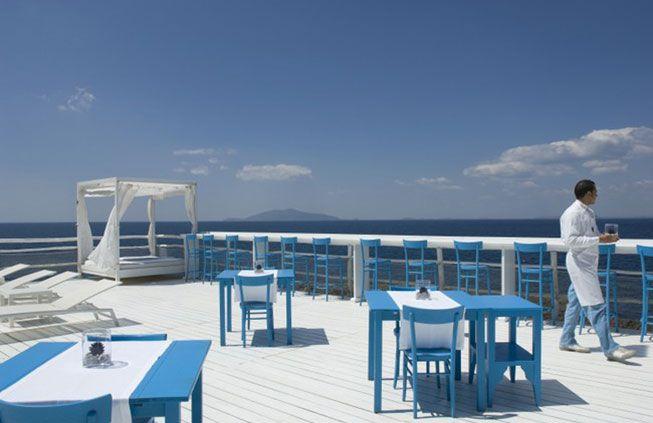 Capri Wedding Reception Beach Club
